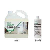 シーバイエス サスティナ ソリッドシール[主剤(4.55kg)x2本+添加剤(0.45kg)x2本] - 業務用フロアシール剤 (耐油、耐久性に優れた第三の床維持剤)