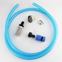 エアコン洗浄機用吸水ホースセット(コネクター+ホーセンド+クリアホース+ストレーナー)