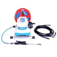 横浜油脂工業(リンダ) バッテリータイプ デジポン(リール付き) MSW2200BR-AC《G1/4》 - バッテリー式エアコン洗浄機【代引不可】