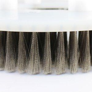 画像2: クオリティ Q-PLATINUM・α(キュープラチナム・アルファ/コラムス仕様) - エンボス汚れに最適なポリッシャー用極細ステンレスブラシ