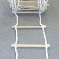 TOWA 縄ハシゴ(18mmビニロン/樫棒ステップ)※5m以上メートル単位で注文可【代引不可】