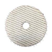 コットンバーニッシュパッドII - 熱でワックスを軟化して平滑にするバフィング用パッド