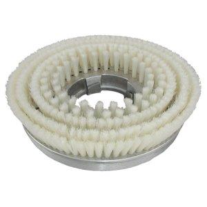 画像1: メタルバックブラシストレート毛 カーペット用ナイロンブラシ