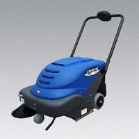 シーバイエス WIDE400 - バッテリー式手押しスイーパー[ダストカップ]【代引不可】
