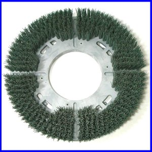 画像1: OCEグリットブラシ<ミディアム> - 研磨砥粒入ナイロンブラシ
