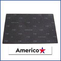 """アメリコ サンドスクリーン スクエア[12""""x18""""] - 木床・フローリング研磨用メッシュパッド"""