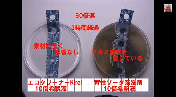 親水被膜を傷めない・泡立ちゼロ・ムセないエアコン洗剤 エコクリーナーKirei
