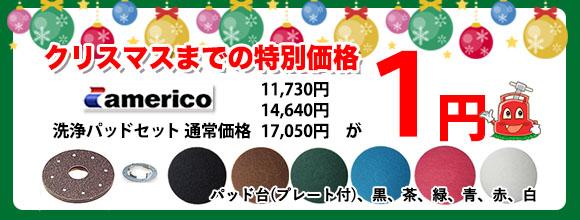 クリスマスまでの特別価格1円