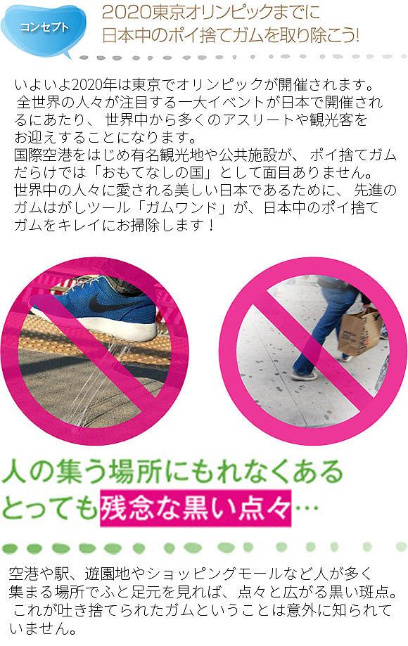 ジェイエスピー ガムワンドG9 - 携帯用ガム取り機【代引不可】_02