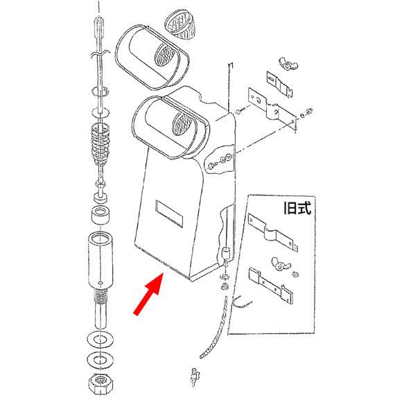 musashi製シャンピングタンク用パーツNo.2シャンピングタンク 01