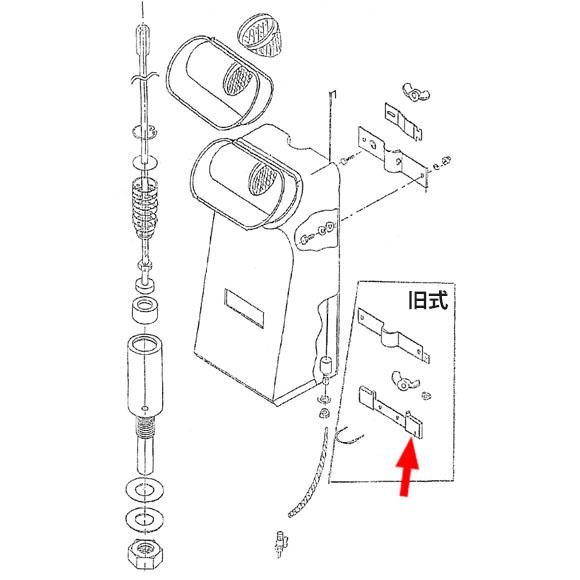 musashi製シャンピングタンク用パーツNo.14変形ゴム(旧式用・2個入り) 01