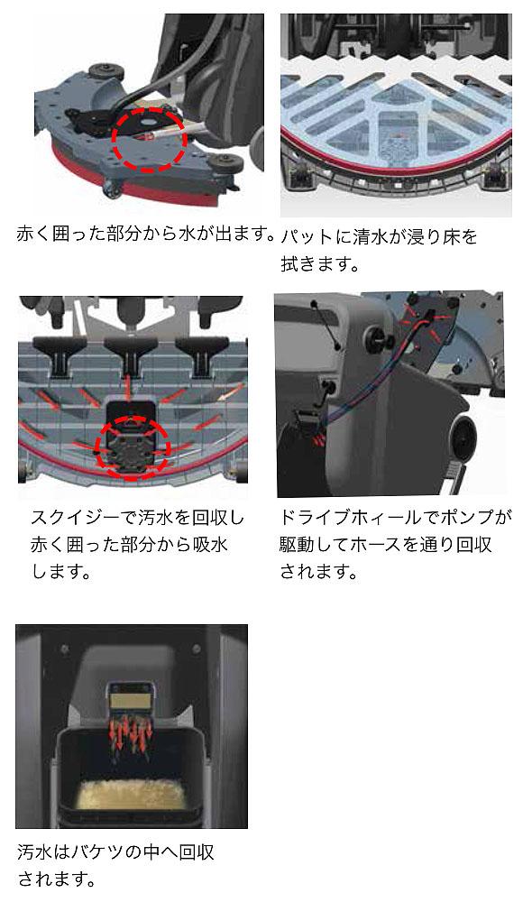 【リース契約可能】ケルヒャー B 60/10 C - 業務用床洗浄機オートモップ【代引不可】08