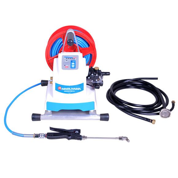 横浜油脂工業(リンダ) バッテリータイプ デジポン(リール付き) MSW2200BR-AC《G1/4》 - バッテリー式エアコン洗浄機