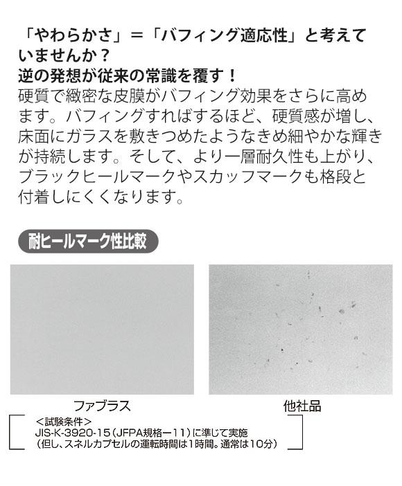 スイショウ ファブラス[18L] - 高緻密性・高耐久性樹脂ワックス 03