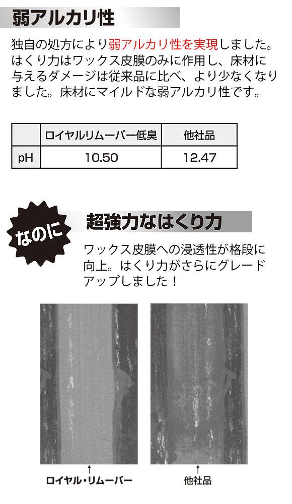 スイショウ ロイヤルリムーバー 低臭・超強力剥離剤 03