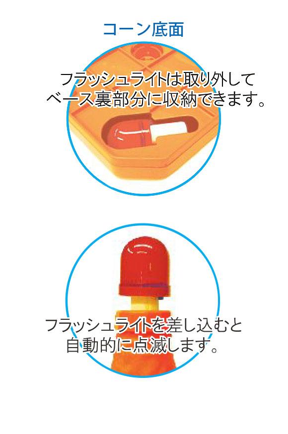 TOWA 新型フラットセーフティーコーン 03