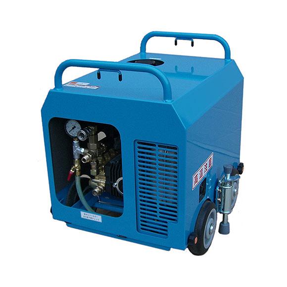日本クランツレ 水弾 NKZ-16GSE - 業務用簡易防音エンジン式冷水高圧洗浄機【代引不可】