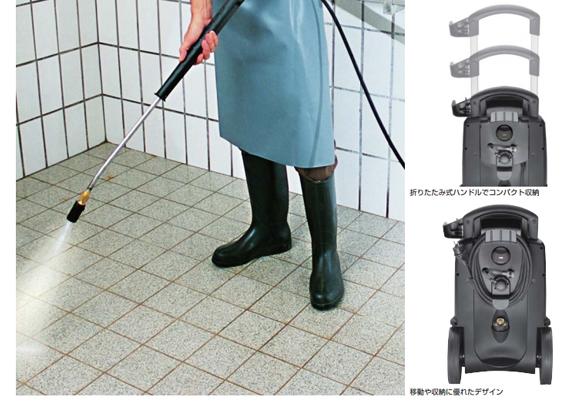 ■年末大掃除キャンペーン特別価格■ケルヒャー HD4/8C - 業務用冷水高圧洗浄機商品詳細02