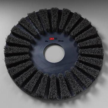 3MフロアブラシNo.73 研磨剤入ナイロンブラシ(剥離・重洗浄用)
