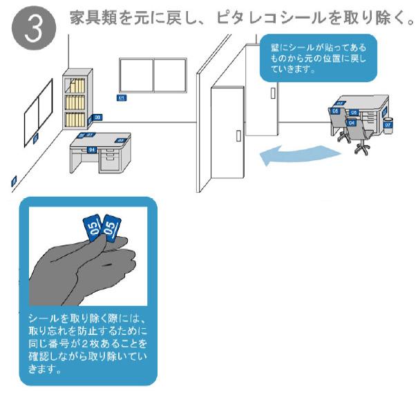 セイワ ピタレコシール - 床メンテナンス定期清掃の必須ツール 04