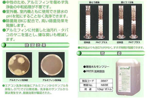 横浜油脂工業(リンダ) シルバーPH7プラス[10kg] - アルミフィン洗浄剤・中性タイプ02