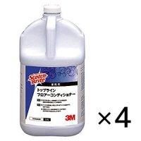 スリーエム ジャパン スコッチ ブライト トップライン・フロアコンディショナー[3.8L×4] - 床面洗浄剤