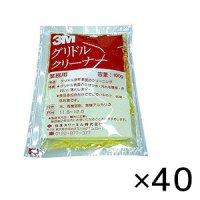 スリーエム ジャパン グリドルクリーナー [100g×40] - グリドル、鉄板磨き用洗剤