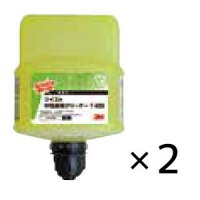 スリーエム ジャパン ツイストクリーニングケミカル 中性床用クリーナー [2L×2] - 高濃縮洗剤