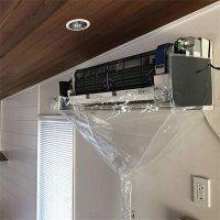壁掛用エアコン洗浄シート(オープン・業務用120cm巾)SA-N120D