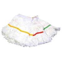 KONAN ループモップ(メッシュ300g) [10枚] - 漂白剤に強く絡みにくいモップ糸
