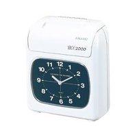 アマノ 電子タイムレコーダー BX2000 - アナログ時計タイプの記録専用モデル