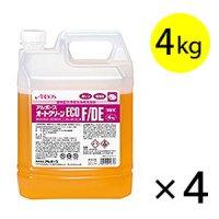 アルボース オートクリーンECO F/DE [4kg×4] - 酵素配合予備洗浄用洗浄剤
