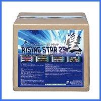 【ポリッシャー.JP限定】■不揮発分25%高光沢・高耐久・速乾性樹脂ワックス■RISING STAR 25 煌(ライジング・スター25 キラメキ)