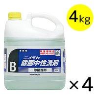 ニイタカ 除菌中性洗剤 [4kg×4] - 除菌洗剤剤 #NI取寄800円