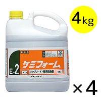ニイタカ ケミフォーム[4kg×4] - 油汚れ用洗浄剤(レンジフード・壁用洗浄剤) #NI取寄800円