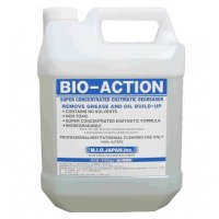 エムアイオージャパン バイオアクション 4L - 厨房用濃縮油脂分解酵素洗剤