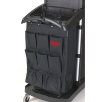 ラバーメイド 大容量クリーニングカート・コンパクトハウスキーピングカート用 ポケットオーガナイザー #RU取寄1,200円