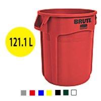 ラバーメイド VENTED BRUTE 丸型コンテナ 32ガロン(121.1L)【代引不可】 #RU取寄1,200円