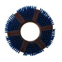 新案ブラシ - ナイロンブラシとパッドを合わせた高洗浄ブラシ