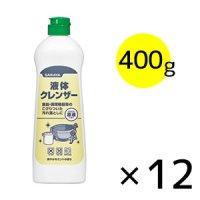 サラヤ 液体クレンザー(ミントの香り) [400g×12]