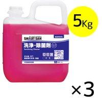 サラヤ 中性除菌洗浄剤 [5kg×3] - しっかり洗浄+安心除菌のW効果