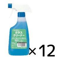 サラヤ ガラスクリーナー [500mLスプレー付 ×12個] - ガラス用洗浄剤