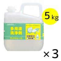 サラヤ サットトレール [5kg × 3] - 多用途洗浄剤