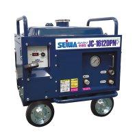 【納期約1カ月】【リース契約可能】精和産業 JC-1612DPN+ - ガソリンエンジン(防音)型高圧洗浄機【代引不可】