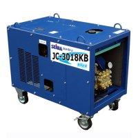 【リース契約可能】■受注生産品・キャンセル不可■精和産業 JC-3018KB - ガソリンエンジン(簡易防音)型高圧洗浄機【代引不可】