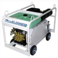 【リース契約可能】■受注生産品・キャンセル不可■精和産業 JC-3518GS - ガソリンエンジン(開放)型高圧洗浄機【代引不可】