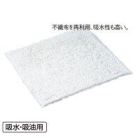 テラモト エコ不織布マット - 汚れたら取り替え可能で経済的な吸水・吸油マット本体