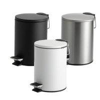テラモト ペダルボックス(静音タイプ) - 静音設計でゆっくり静かに閉まるペダル式ゴミ箱