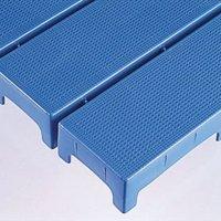 テラモト エコブロックスノコ(ジョイント別売) - 倉庫などの防湿用床材としても最適な、ジョイント可能スノコ