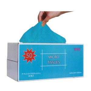 画像1: アプソン マイクロティッシュ  (50枚入) - 使い捨てマイクロクロス